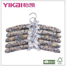 Набор из 5шт хлопчатобумажной вешалки для одежды с рисунком