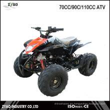 Niños Gas 4 Wheeler Cuatro Carreras Quad ATV 125cc con EPA / EEC