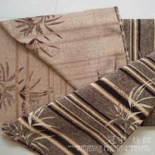 Jacquard Chenille 100% Polyestergarn gefärbtes Gewebe für Haus