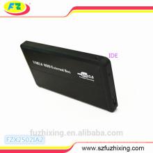 IDE External Aluminum HDD Enclosure 2.5 HDD Casing
