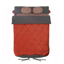 3 Season Duck Down Double Sleeping Bag with Pillow OEM ODM Duck Down Double Sleeping Bag for Winter Camping