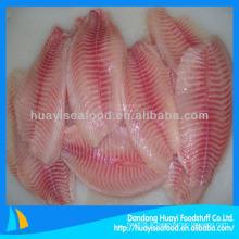 Filete de poisson au filet de tilapia congelé à chaud