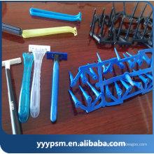 Hot sale shaving razor triple blades disposable razor blade shaver plastic injection parts mould making