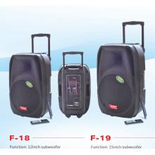 Altavoz de la batería recargable altavoz portátil (f18)