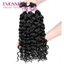 Melhor venda de cabelo virgem malaio não processado
