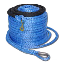 High Strength Synthetic Fiber Polyethylene Rescue Work Winch Ropes