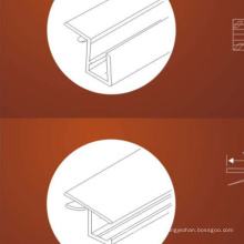 Shower glass door water resistant spash PVC material shower door seal stris