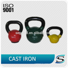 colorful Competion KettleBells with cast iron