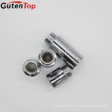 Высокая GutenTop качественной фурнитурой из латуни Ср фитинги фитинги сантехнические Ниппели с никелем или хромом