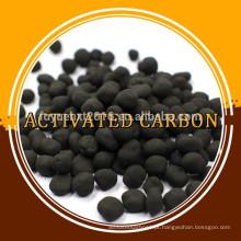 Alta dureza e grande área de superfície Carvão com base em carbono esférico ativado por tonelada