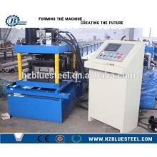 Machine de formage de rouleaux en acier Purlin à coupe hydraulique C Z, machine à purger de canal C à vendre