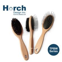 Grooming Tool Quality Durable Pad Round Tip Pin Brush Madan