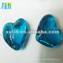 Pingentes de corações aquamarine moda com cristal em massa CP053