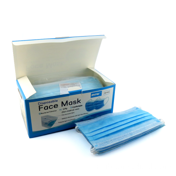 Masque facial chirurgical jetable parfait