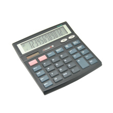 12 Digits Dual Power Classic Office Desktop Calculator