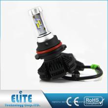 Vehículo auto led proveedor ZES 50W 6000 lumen x3 360 luz 9004 9007 bombillas led faros