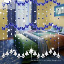 горячая продажа формы радуги кристалл бусина занавес для домашнего украшения