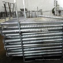 Bodenschrauben-Pfosten-Anker 1MW Solarkraftwerk