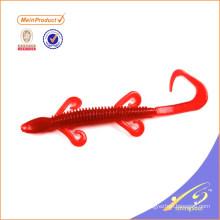 SLL085 alta calidad al por mayor lagarto señuelo muestra gratis señuelo suave