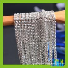 Crystal Rhinestone Chain Trimming For Wedding Dress