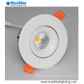 Hole 90mm COB LED Ceiling Down Light with Brand Meanwell Driver
