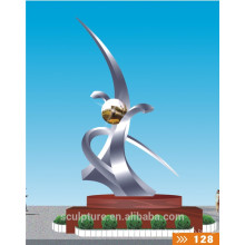 2016 Neues Produkt der modernen Edelstahl-Skulptur für Garten u. Im Freien