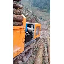 Pequeño camión de orugas diesel Mini dumper 2 toneladas de maquinaria minera