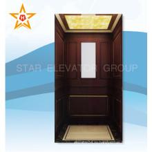 Подъемник для дома с деревянной и стеклянной отделкой Xr-J06