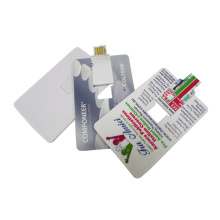 Promocional Custom Credit Card USB Flash Drive