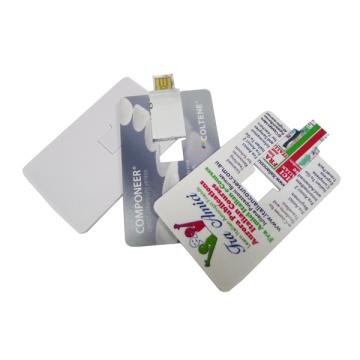 USB-флеш-накопитель с рекламной картой