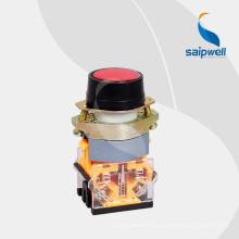 Commutateur à bouton-poussoir instantané 4 broches Saipwell High Quality LAY50-22AA1