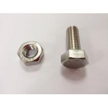 Acero inoxidable A2-70 tuerca perno fabricación maquinaria precio