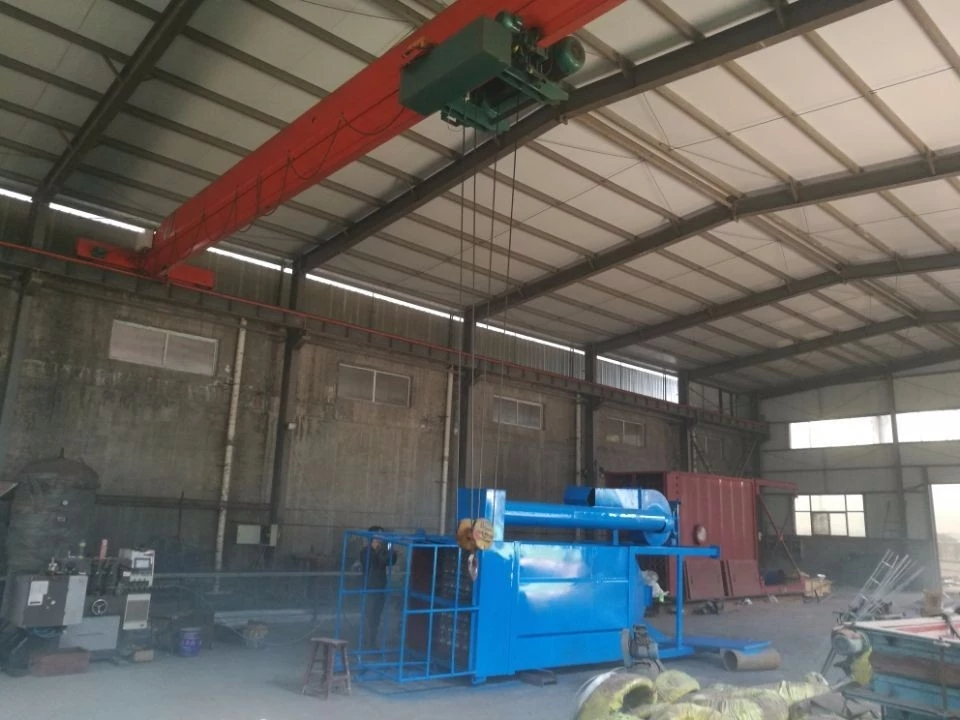 Medium frequency furnace dust processor