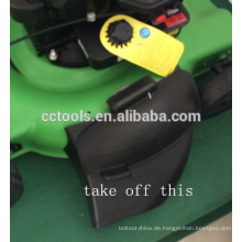 Rasenmäher selbstfahrende / Hand drücken 1P65 4 Taktluftgekühlte 18inch / 20 Zoll Rasenmäher