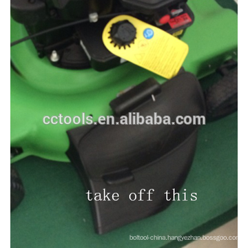 lawn mower self propelled /hand push 1P65 4 stroke air cooled 18inch/20 inch grass mower