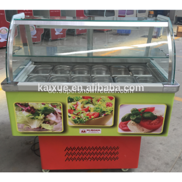Comercial Refrigerator Food Fresh Counter Cake Showcase
