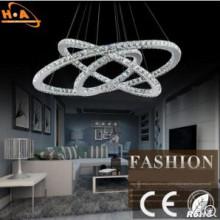 Europäische Kristall Kronleuchter Wohnzimmer Lampe Energiesparende LED Lampe