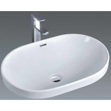 El lavabo de cerámica del lavabo del arte del cuarto de baño barato (018)