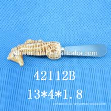Cuchillo de la mantequilla de cerámica de la nueva decoración del diseño de la cocina