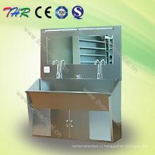 Thr-Ss027 Раковина для скраба из нержавеющей стали для двух человек