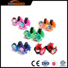 flashing roller skate/flashing wheel shose/light-up roller skates
