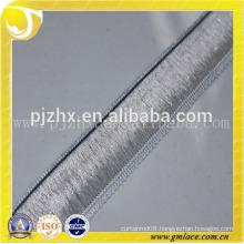 2015 Polyester Fringe Trim Wholesale Silver Fringe in Stock