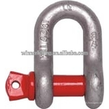 Red Pin Anchor Shackel Forged Shackle for Marine Using