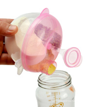 Pumpkin shape easy to carry baby milk powder container Baby Feeding Travel Storage Container