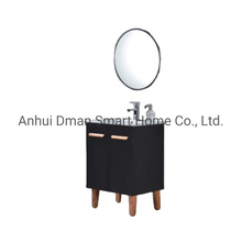 PVC Freestanding Waterproof Home Wash Basin Bathroom Cabinet