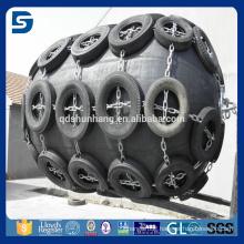 anti-aging marine fender /pneumatic Yokohama type rubber boat fender supplier in China