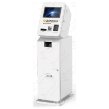 Cash in en uit Bitcoin ATM Kiosk