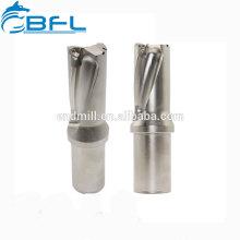 BFL-Vollhartmetallbohrer mit großem Durchmesser und langer Schneidlänge Hartmetallbohrer