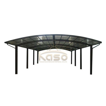 Pris Canopy SunShade Row Carport Polycarbonate Bus Shelter