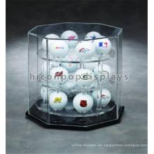 Counter Top Einkaufszentrum Custom 3-Layer Acryl Hockey Ball und Baseball Spiel Ball Display Fall